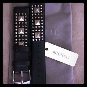 18mm Michele Rockstud watch band